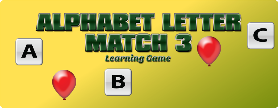 Alphabet Match 3 Game