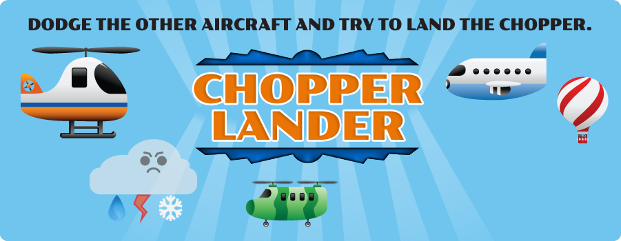Chopper Lander Game