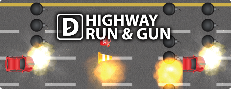 Highway Run & Gun Game