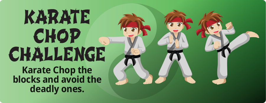 Karate Chop Challenge Game