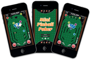 Mini Pinball Poker Game