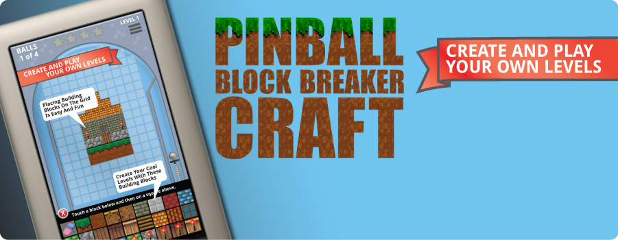 Pinball Block Breaker Craft Game