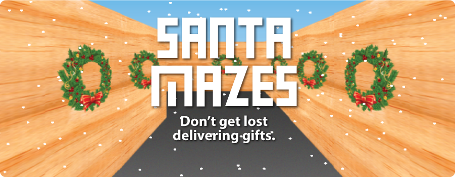 Santa Mazes Game
